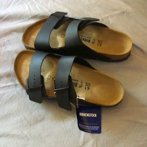 Birkenstock Shoes - Birkenstock size 10 (41) new with tags and black